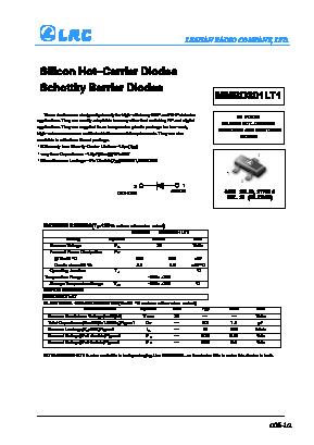 MMBD301T1 image
