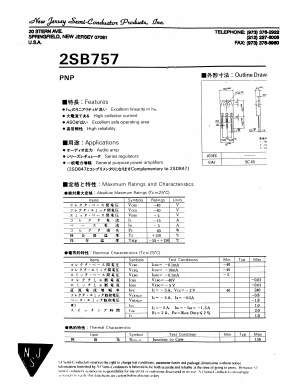 2SB757 image